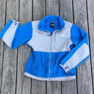 The north face blue/grey jacket